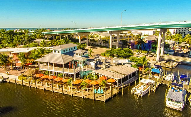 Matanzas On The Bay Waterfront Restaurant On Fort Myers Beach
